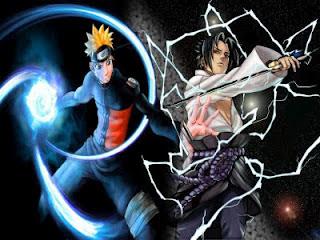 Naruto Vs Sasuke The Battle Begins: Naruto vs. Sasuke (オマエと戦いたい!ついに激突 サスケVSナルト, Omae to Tatakaitai! Tsui ni Gekitotsu Sasuke tai Naruto)