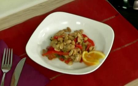 Çin Yemekleri - Çin Usulü Balli Tavuk - Videolu Tarifi