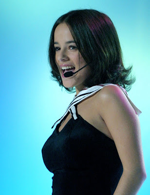 Alizee Pop Singer Wallpaper
