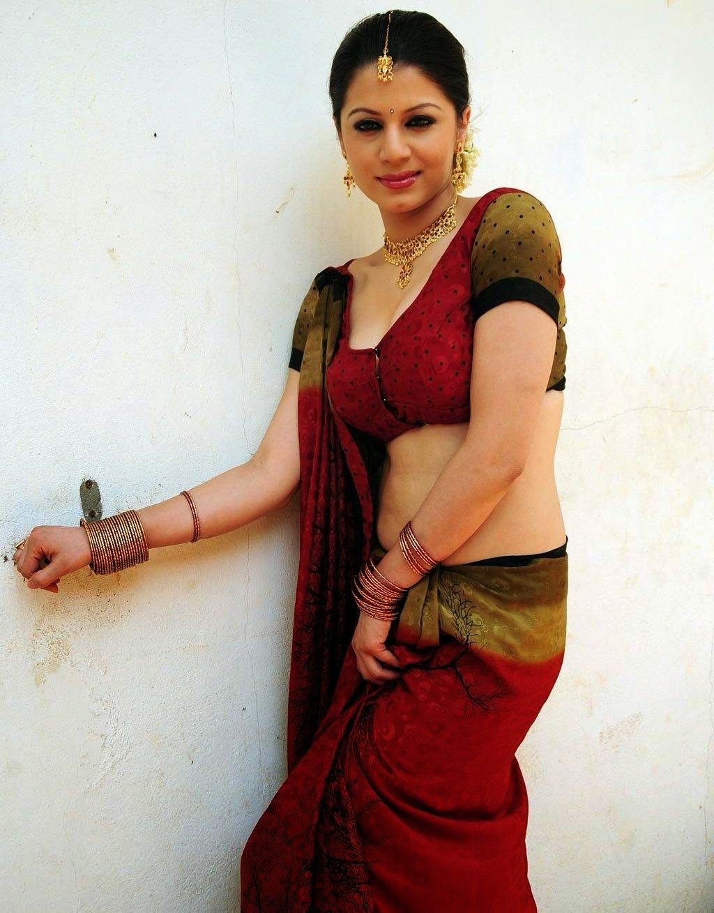 wife saree hips Desi hot sexy