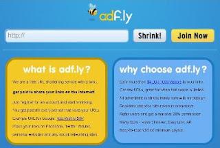 adf.fly,tutorial,cara daftar,link,uang,penghasilan,money
