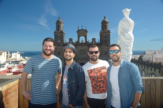 El pregón del carnaval de Las Palmas de Gran canaria por Efecto pasillo