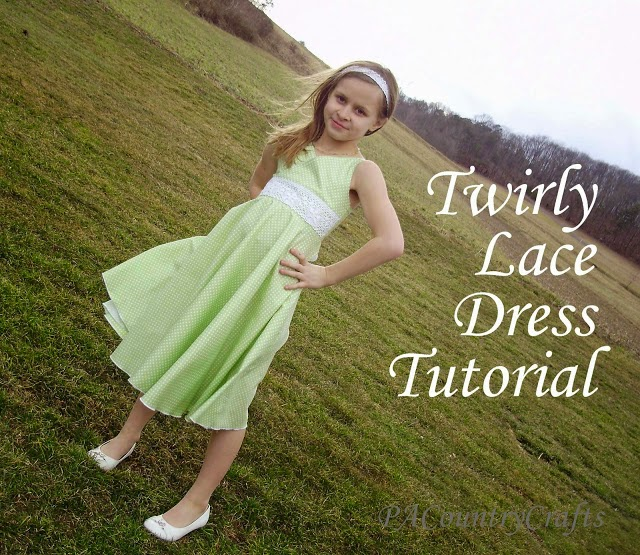 Dress tutorial for little girls