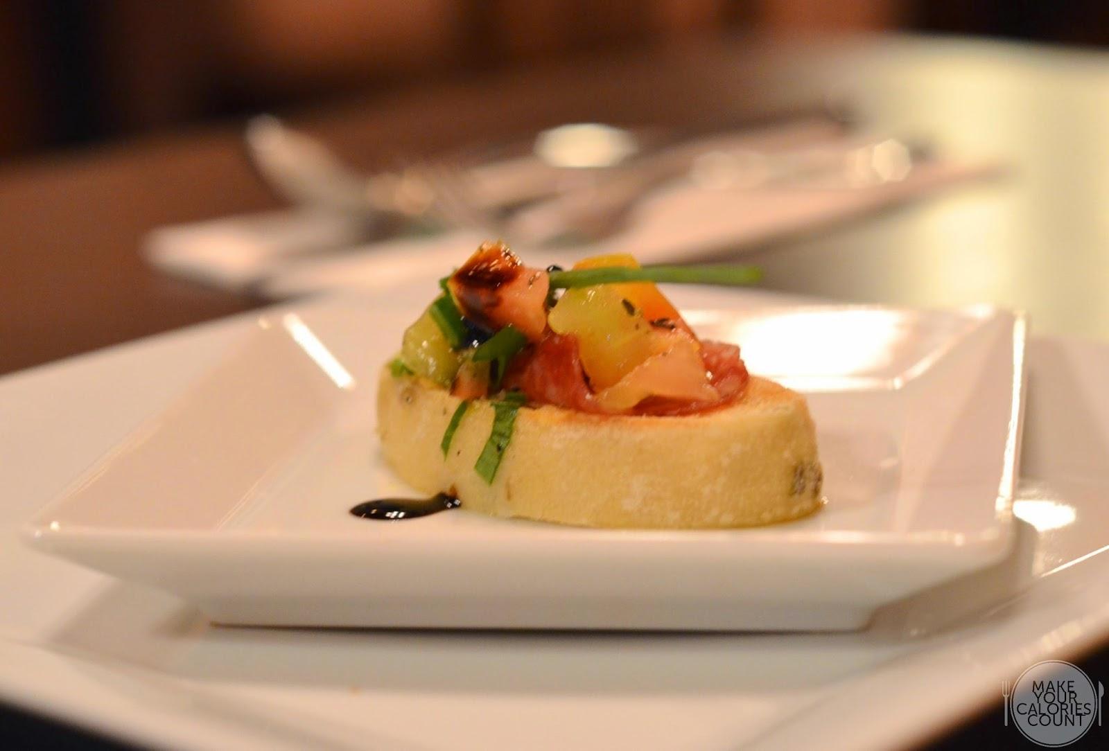 Sg trattoria gallo d 39 oro an artistic flair marking finesse in italian cuisine mycc - Amuse gueule italien ...