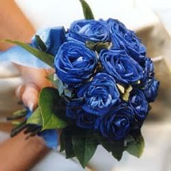 Ramos de Novia Color Azul, parte 1