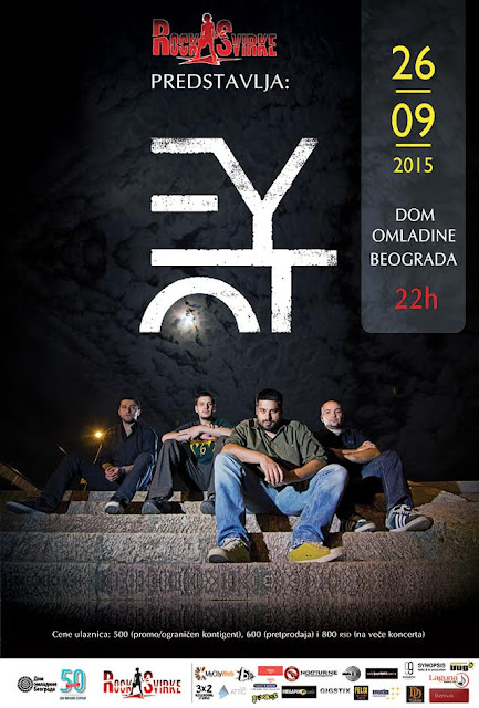 Veliki beogradski koncert grupe Eyot u Domu omladine