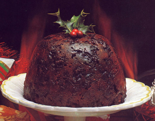 Anglo indian recipes by bridget white christmas pudding for Xmas pudding