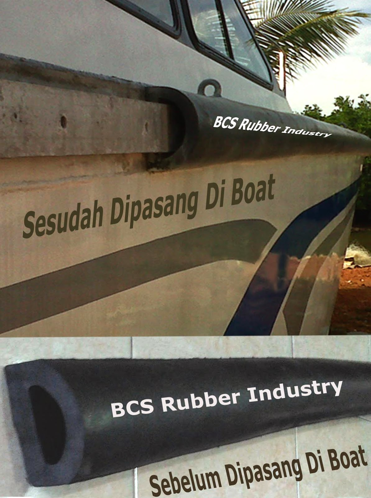 RUBBER FENDER D TYPE - BY BCS RUBBER INDUSTRY