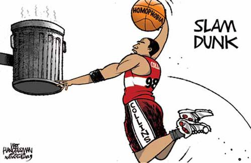 Jason Collins' Slam Dunk