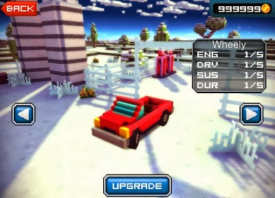 Blocky Roads Winterland Game Hack