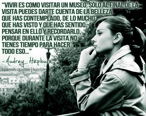 Audrey Hepburn Quotes Spanish