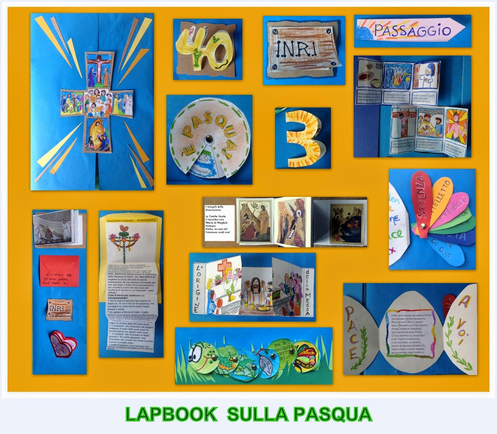 Finestrelle: Re- Play Lapbook Pasqua