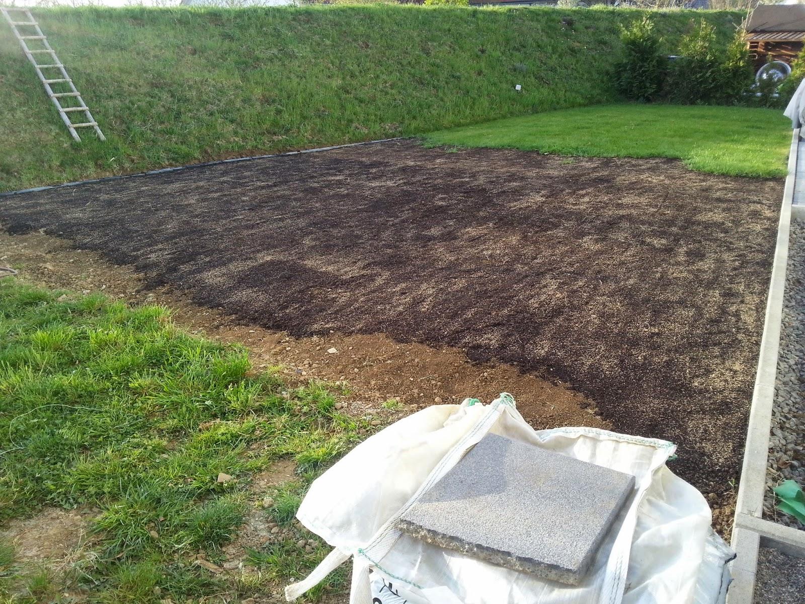 ... Fertighaus Weiss bauen: Und weiter gehts im Garten - Rasen anlegen 2.0