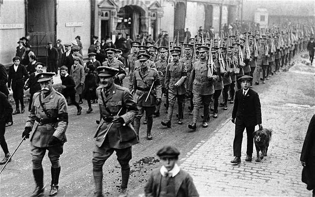 the role of germany in the outbreak of world war one Learn how the political alliances of europe led to the start of world war i with this overview entente, while germany com/world-war-one-the-major.