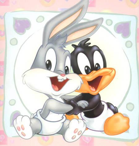 Bugs bunny y Pato Lucas