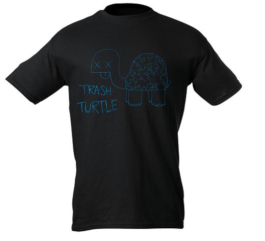 Trash Turtle T-Shirt