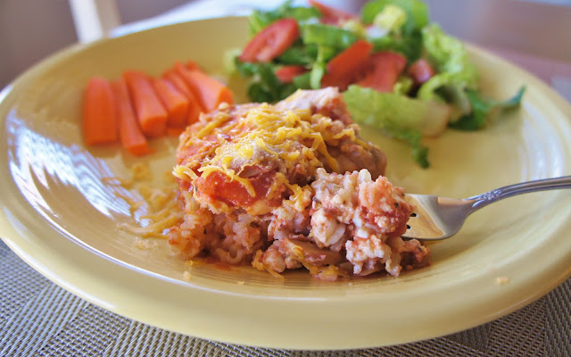 Crock Pot Rice Lasagna #meatless #glutenfree #crockpot #slowcooker
