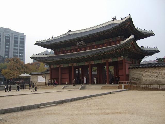 昌徳宮,敦化門,ソウル,韓国〈著作権フリー無料画像〉Free Stock Photos