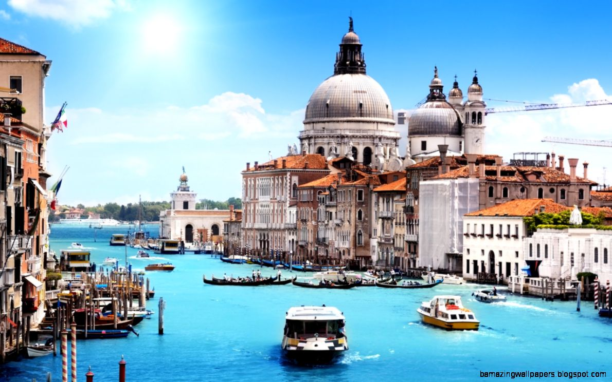 Stunning Venice Cityscape HD Wallpaper