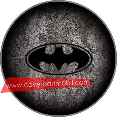 COVER BAN MOBIL LOGO BATMAN