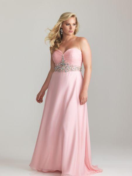 Vestidos para gorditas color palo de rosa