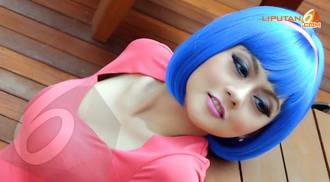 Foto Model  Rambut Jenita Janet