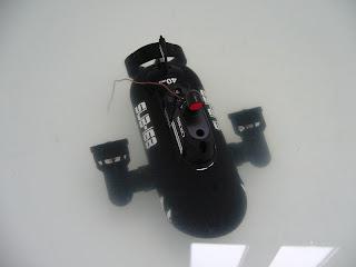 mini submarino marca Nikko a radiocontrol