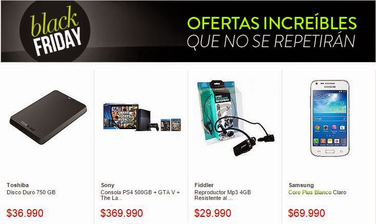 black friday 2014 falabella chile