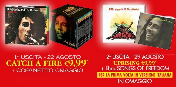 bob marley collection in edicola con panorama e tv sorrisi canzoni