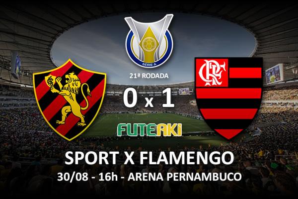 Veja o resumo da partida com o gol e os melhores momentos de Sport 0x1 Flamengo pela 21ª rodada do Brasileirão 2015.