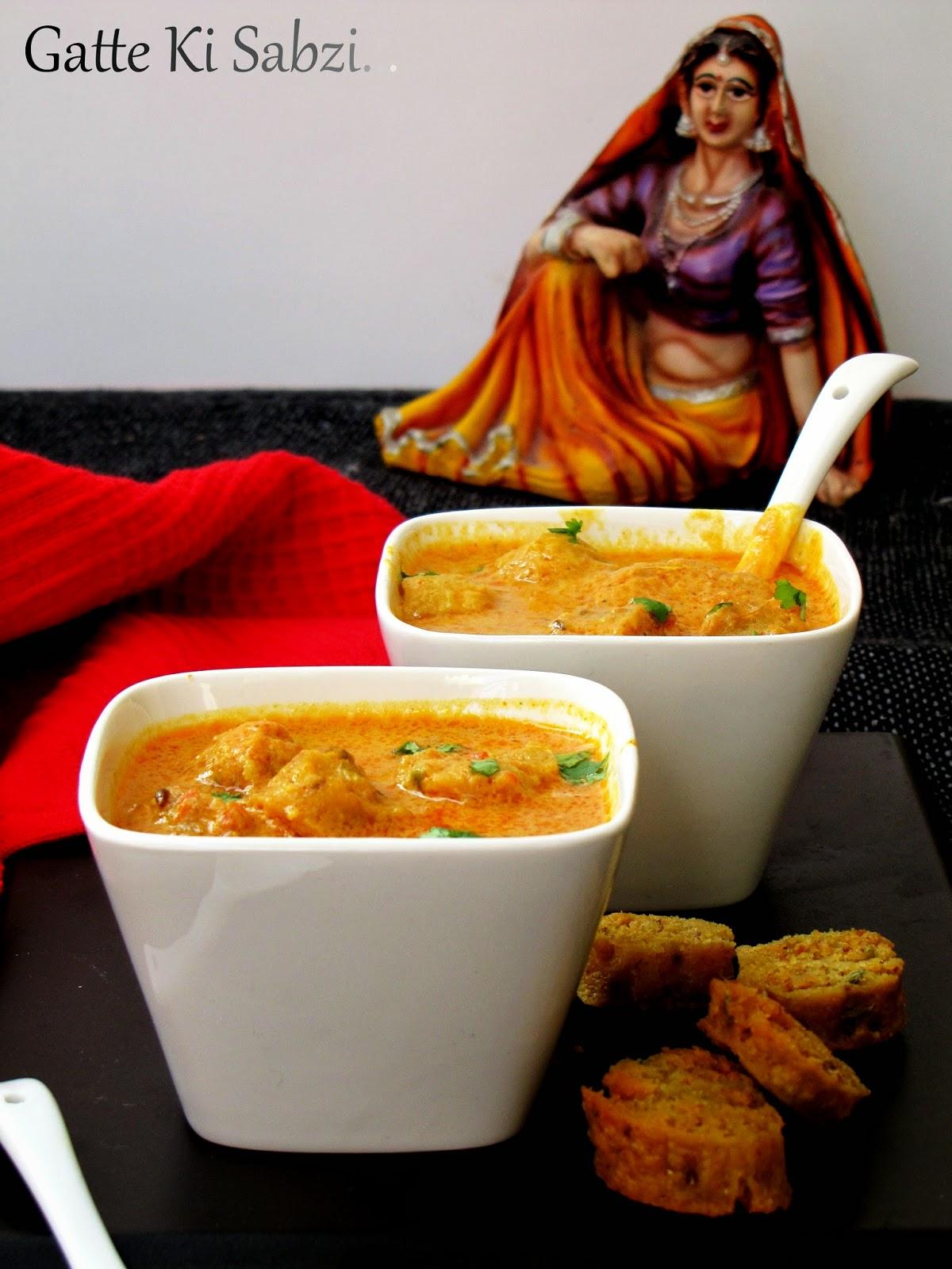 Rajasthani-Gatte-ki-sabzi-recipe