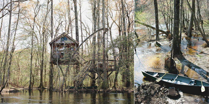 Travels with clara swiss family robinson style for Columbia at south river gardens