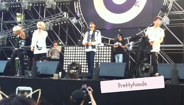 shinee x beatburger at umf 130615