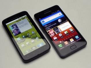 Comparação de smartphone
