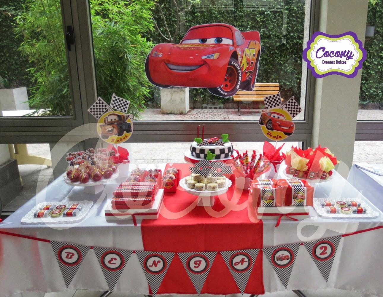 Cocony eventos dulces mesa dulce cars - Plantillas de decoracion ...