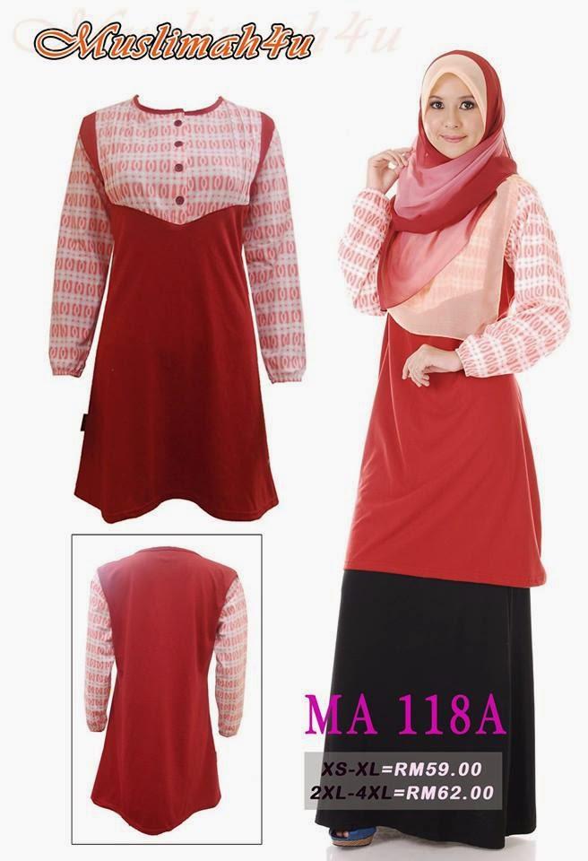T-shirt-Muslimah4u-MA118A