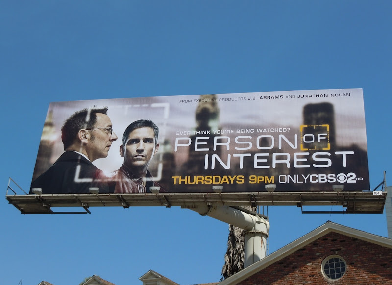 Person of Interest billboard