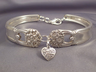 CUSTOM MADE SILVERWARE BRACELET