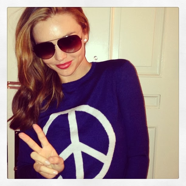 Leonardo DiCaprio Denies Miranda Kerr Hook Up? - The Front ... Miranda Kerr Instagram