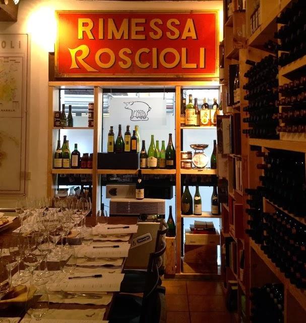 Wine Tasting in Rome  {Rimessa Roscioli}
