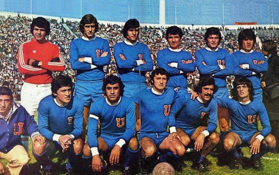 UNIVERSIDAD DE CHILE 1976 (carballo pellegrini bigorra pizarro ashwell ...