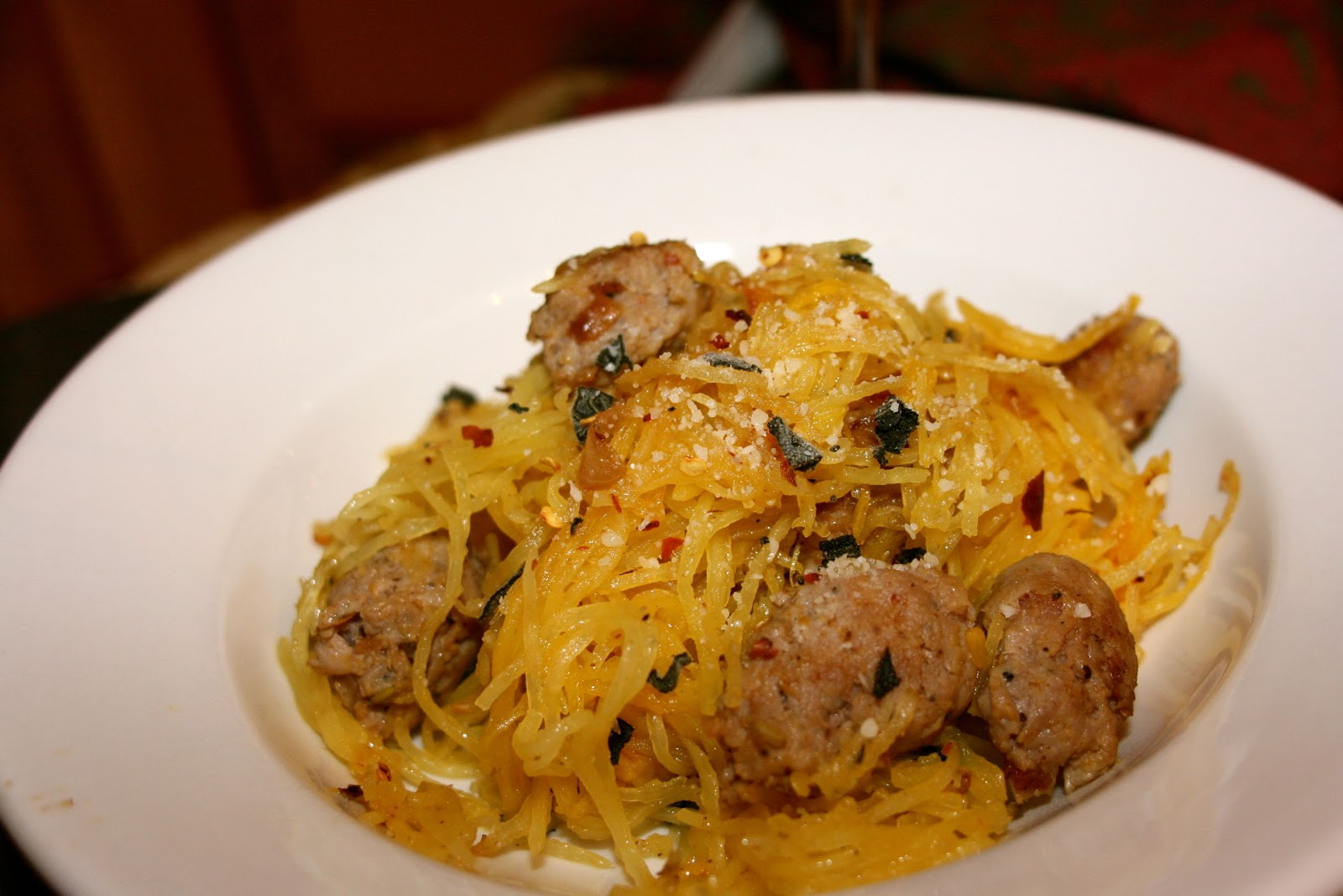 Squash with Sausage: Foodie Friday: Spaghetti | Simple ...