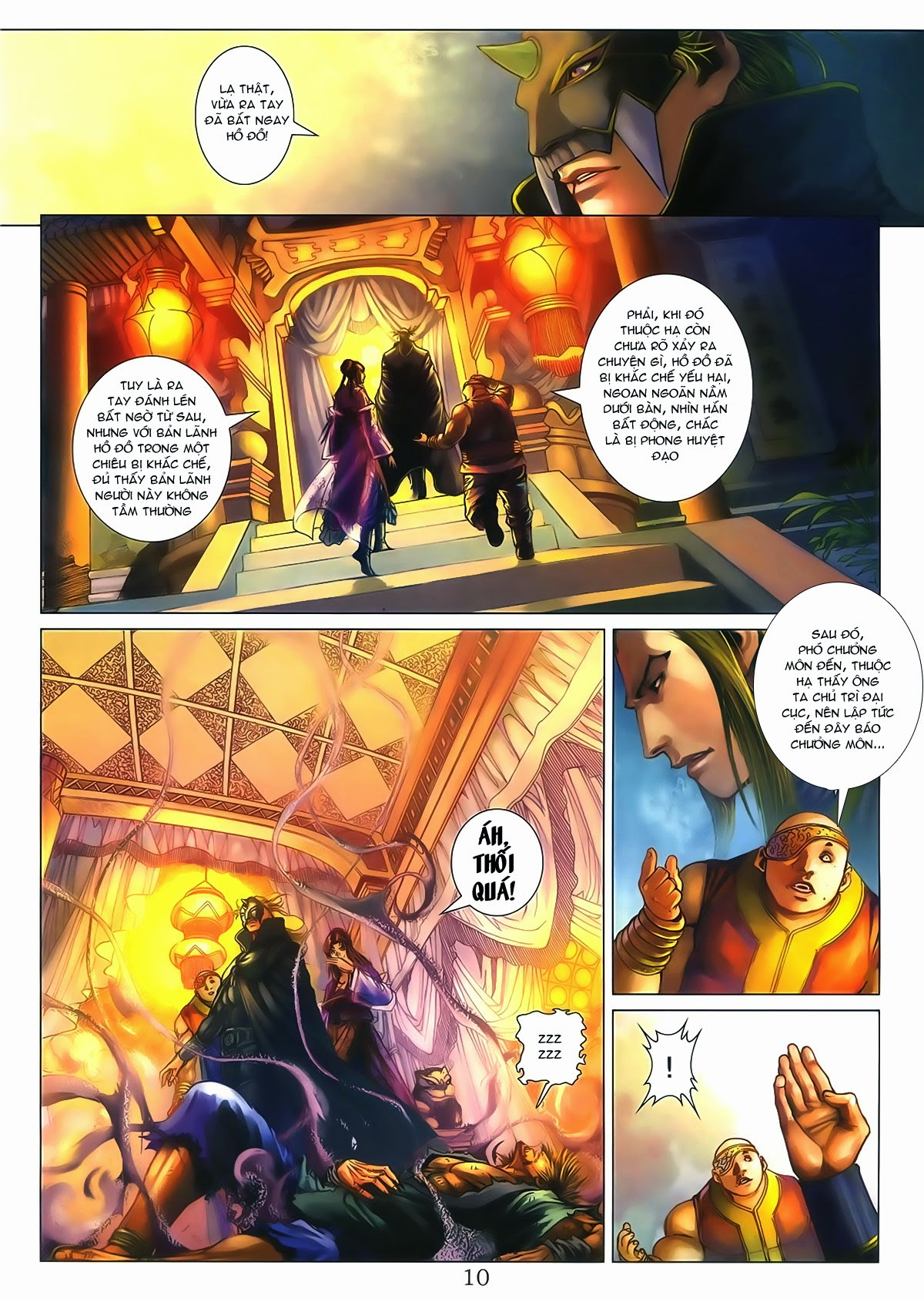 Tứ Đại Danh Bổ Chap 286 - Trang 10