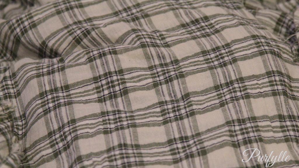 stash fabric - muslin