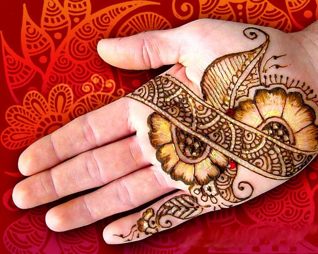 Arabian Mehndi Style : Outstanding arabic mehndi designs collection