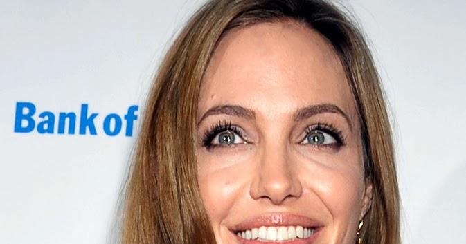 Hollywood's Most Beautiful Beauties: Angelina Jolie - Elegant Beauty