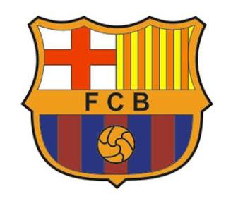 Logo Barcelona selesai di buat