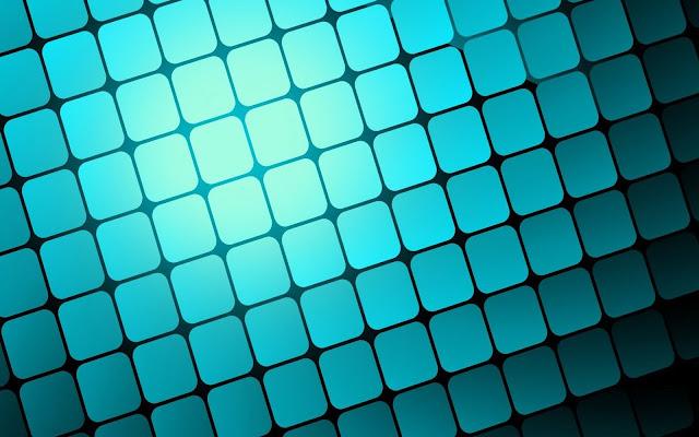 foto blauwe vierkanten