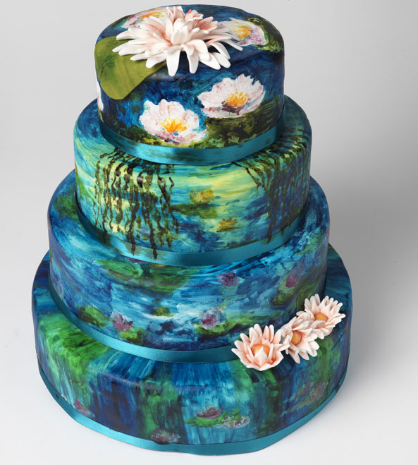 Cake Artist Cakes : Mashmoom: British bakers create cake art for Stylist.