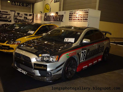 Modified Lancer Evo X